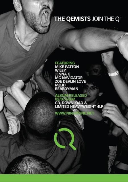 join the q promotional flyer