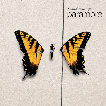 paramore - brand new eyes cover